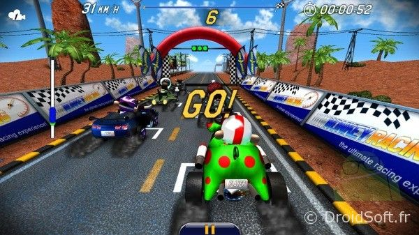 monkey racing apk