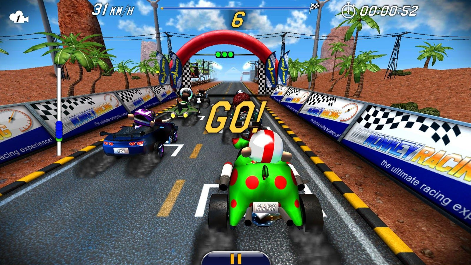Pictures of Mario Kart Racing Android
