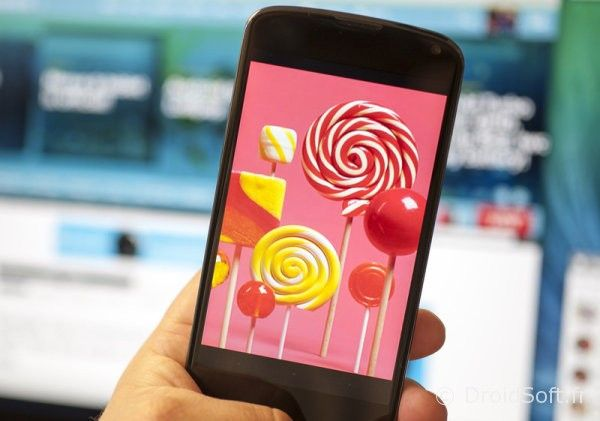 nexus 4 android 5.0 lollipop