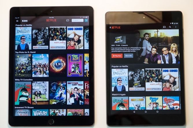 nexus 9, Même pour un fan d'Android, la Nexus 9 ne bat pas l'iPad Air 2