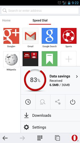 opera mini beta apk