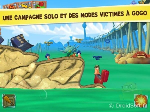 worms 3 apk gratuit