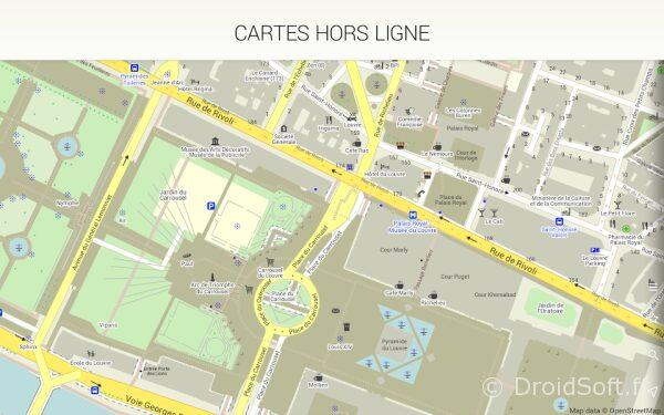 MAPS.ME Pro - offline carte