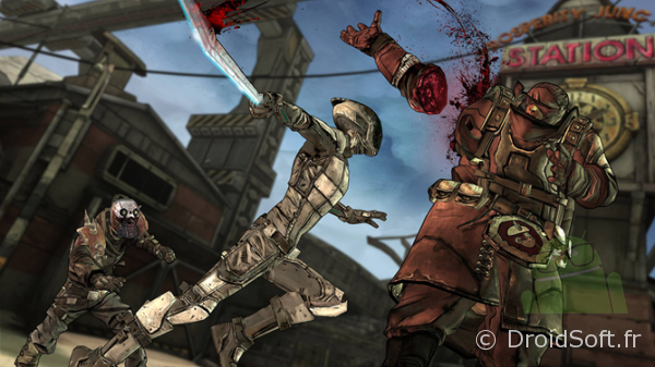 borderlands jeu apk
