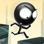 logo  Stickman Roof Runner