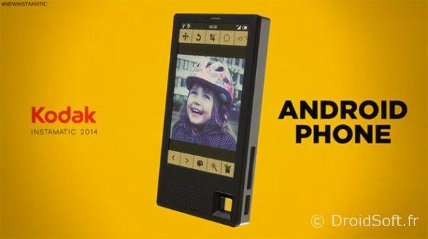 kodak smartphone concept