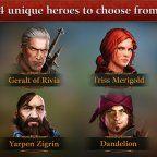 The Witcher Adventure Game, The Witcher Adventure Game sur Android : Un jeu de plateau The Witcher