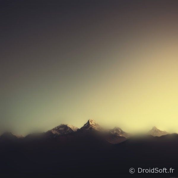 wallpaper-blur-flou-colors- montagne blur tablette