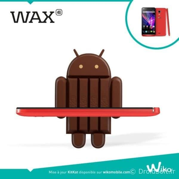 wiko wax mise a jour android kitkat