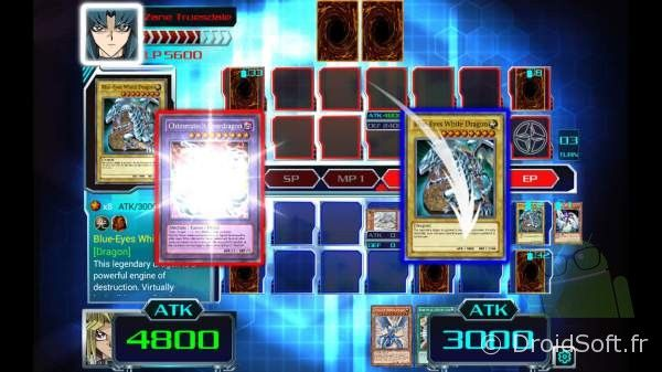 yu-gi-oh android iphone jeu