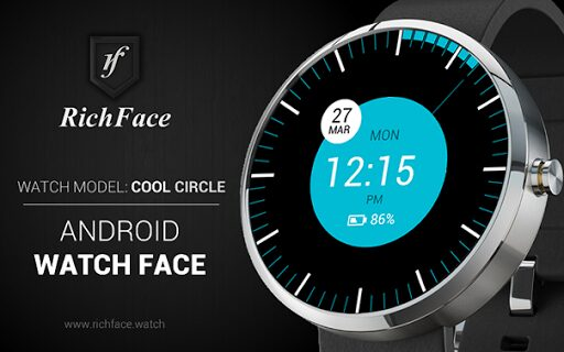cool circle watch face gratuit