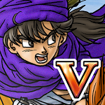 logo  DRAGON QUEST V