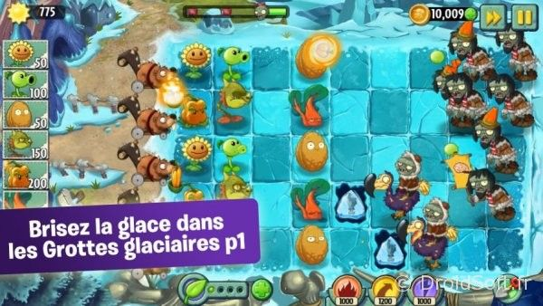 plants-vs-zombies-e-2 grotte glaciaire