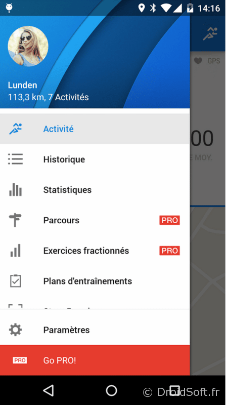 runtastic android material
