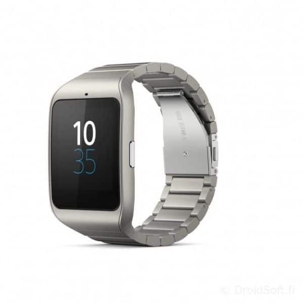 smartwatch3 sony metal