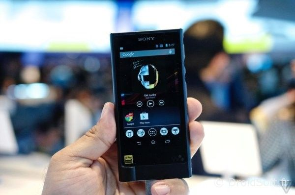sony walkman android