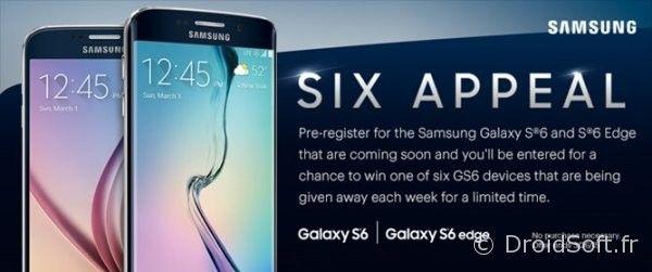 Galaxy S6 et S6 Edge presentation orange sfr bouygues