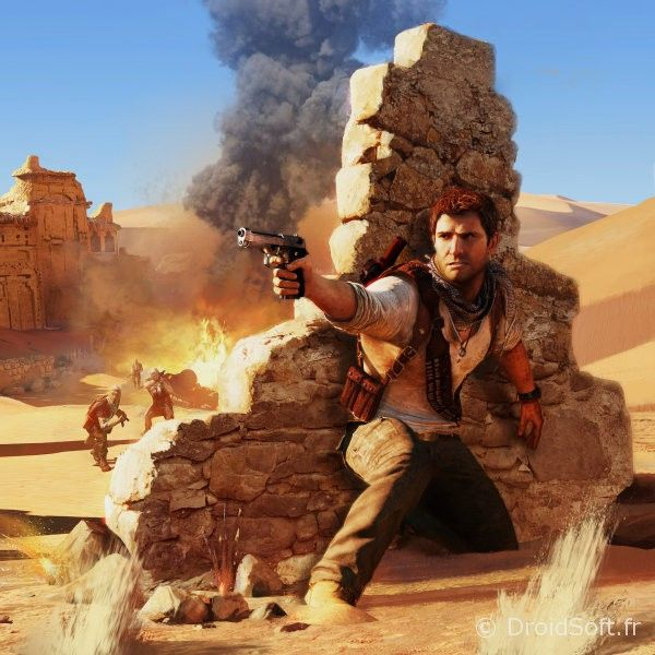 android drake-under-fire-uncharted-game- tablette -wallpaper