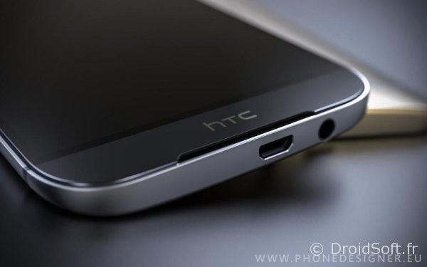 htc one m9 face avant