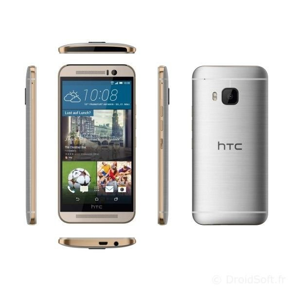 htc one m9 gris