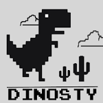 logo  Dino Run - Dinosty