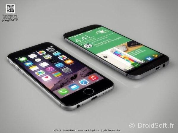iphone 6 htc one m9 1