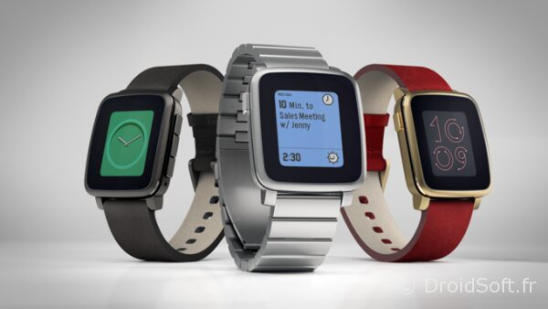 Pebble Time Steel 2