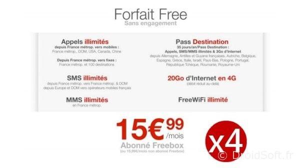 forfait-free-x4