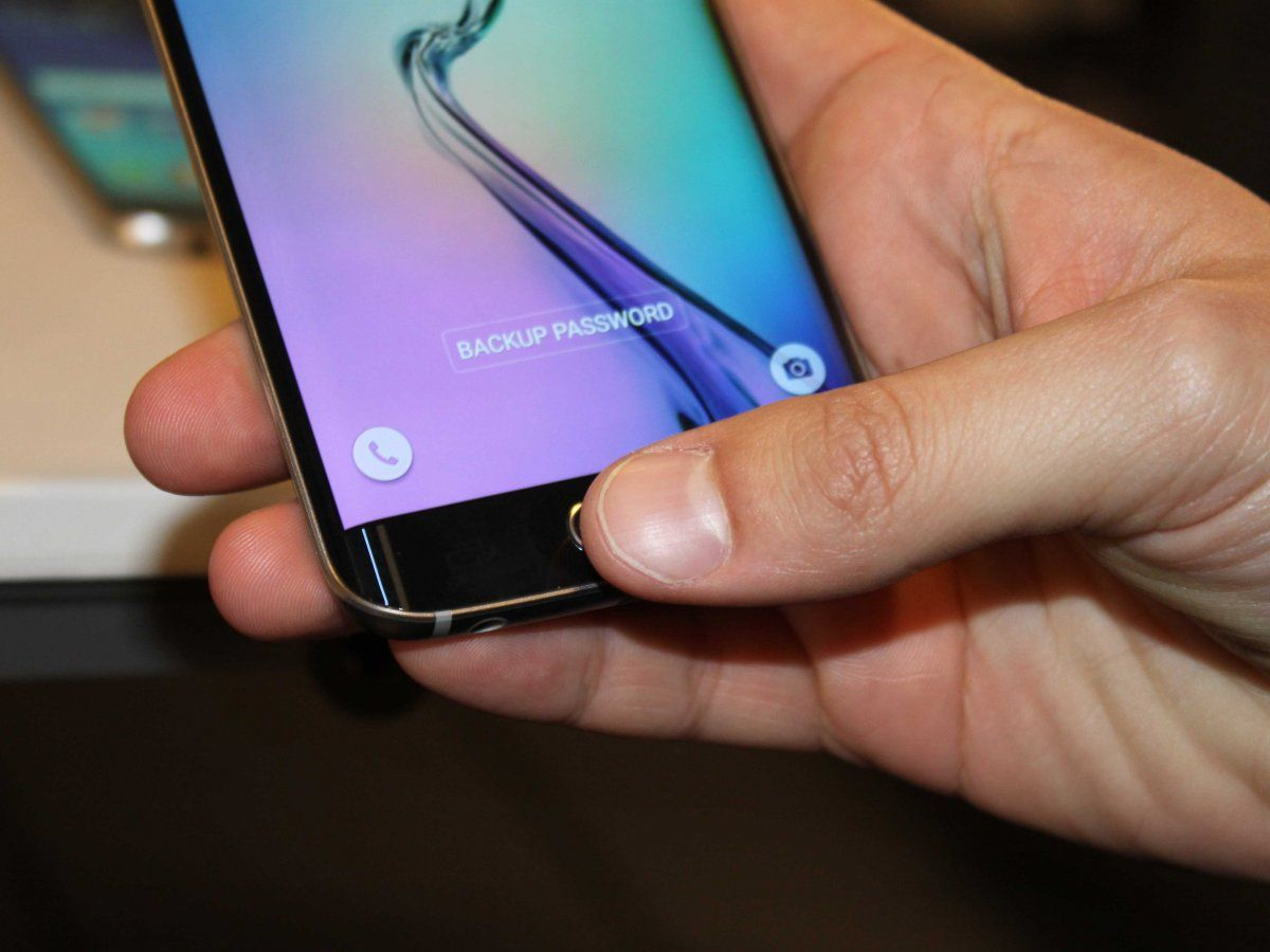 galaxy s6 edge touch id finger print