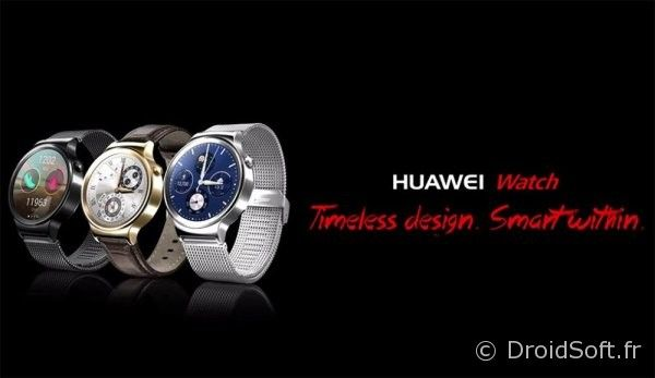 huawei-watch montre ronde android