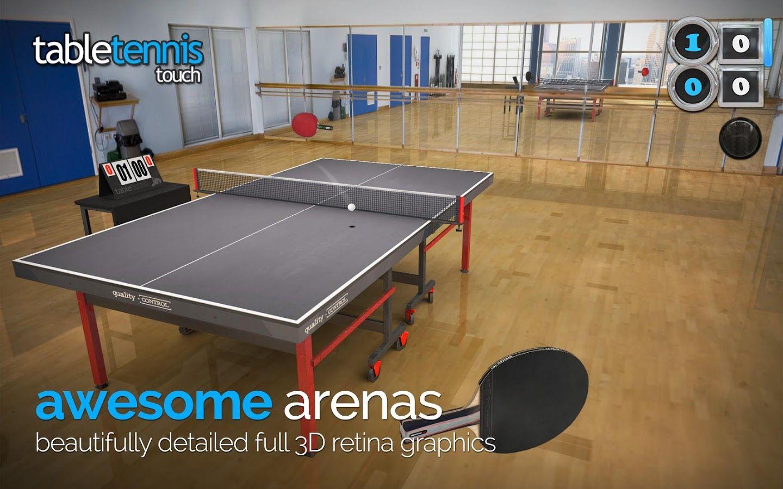 jugar table tenis: