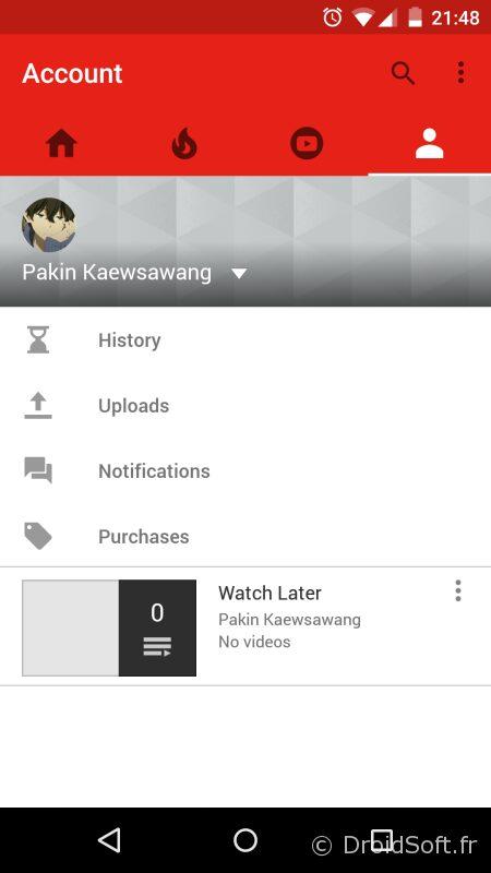 youtube apk version nouvelle 2