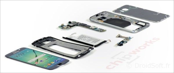 galaxy s6 demonter ecran batterie