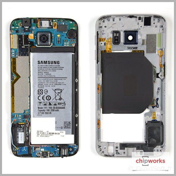 galaxy s6 edge remplacer ecran batterie