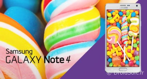 note 4 android 5.0