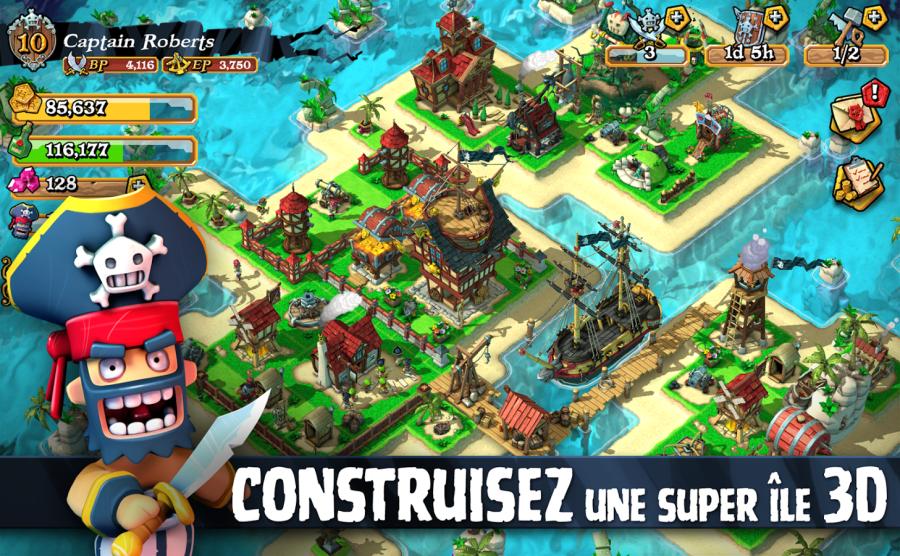 Pirates : le Clash of Clans pirates de Rovio Stars enfin sur Android