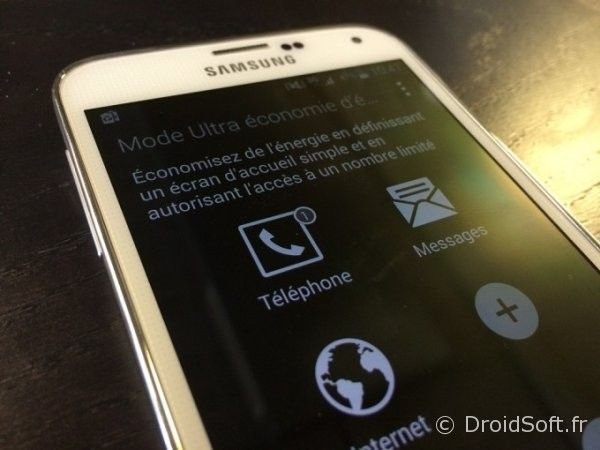 ultra economie energie android galaxy s6 S5