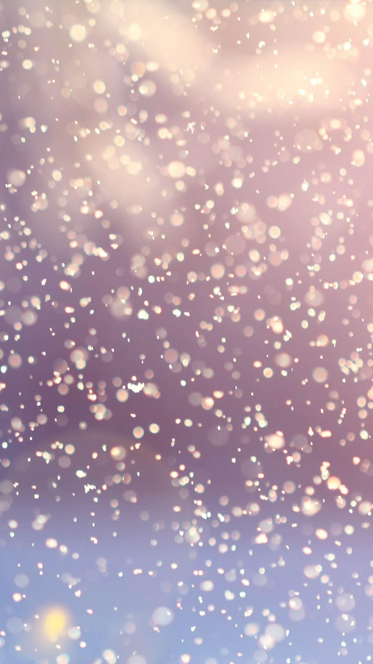 Flocons de neige fond d 39 cran android hd for Fond ecran pour android