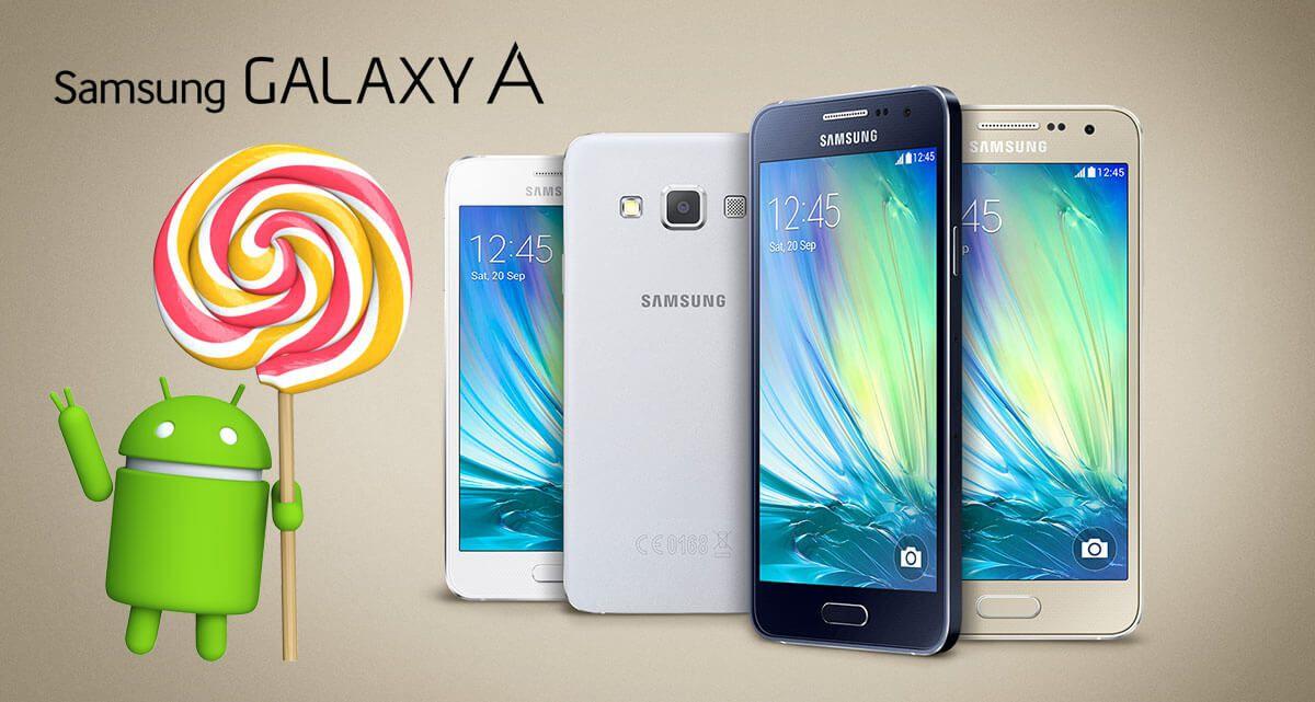 Les galaxy a3 a5 et a7 passeront android lollipop d s juin for Photo ecran galaxy a3