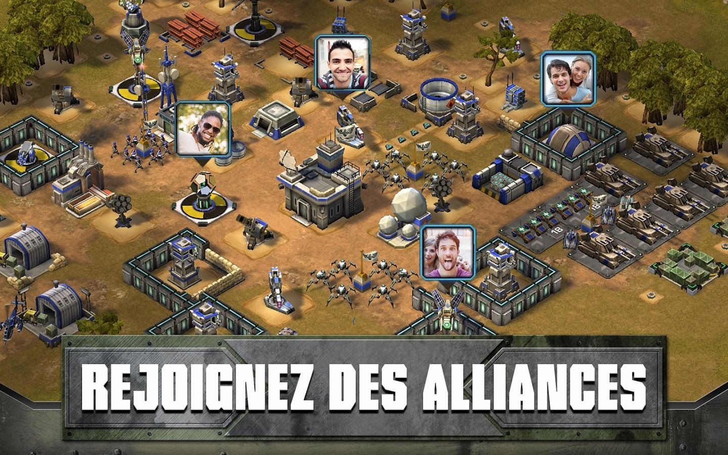 : le Clash of Clans de Zynga façon Command and Conquer sur Android