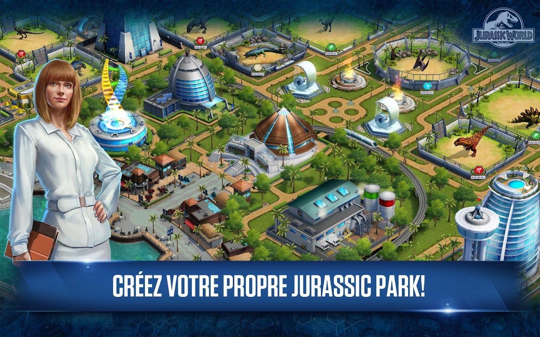 Jurassic world le jeu de gestion est disponible sur - Jeux de jurassic park 3 ...