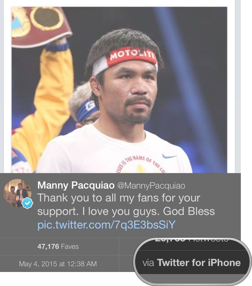 pacquiao apple
