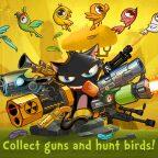 Guncat, Guncat : un chat armé jusqu'aux dents descend des oiseaux sur Android