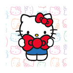 logo  Hello Kitty Watch Face