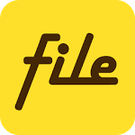 logo  File Expert with Clouds V7