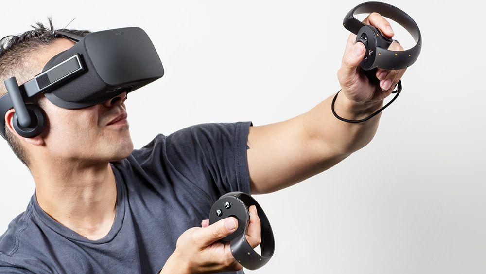 manette oculus rift
