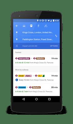 transit google maps