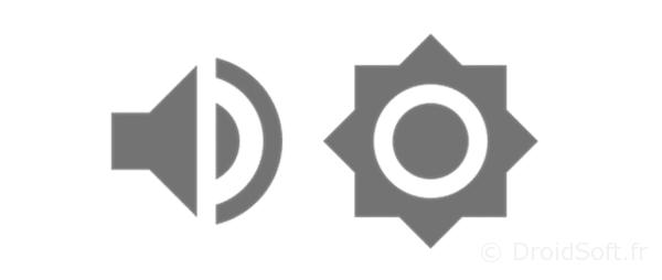 volume luminosite android