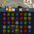 Adventure Time Puzzle Quest, Retouvez Jake, Finn et leurs amis dans Adventure Time Puzzle Quest sur Android