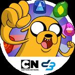 logo  Adventure Time Puzzle Quest